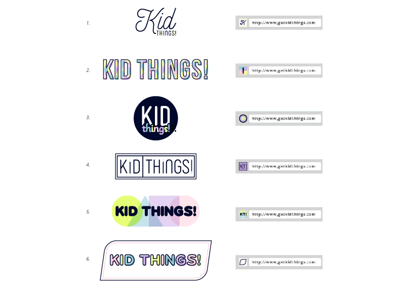 Kid Things Branding Sarah Overton